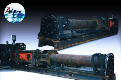 AremH vérin haute pression banc d'essais hydraulique