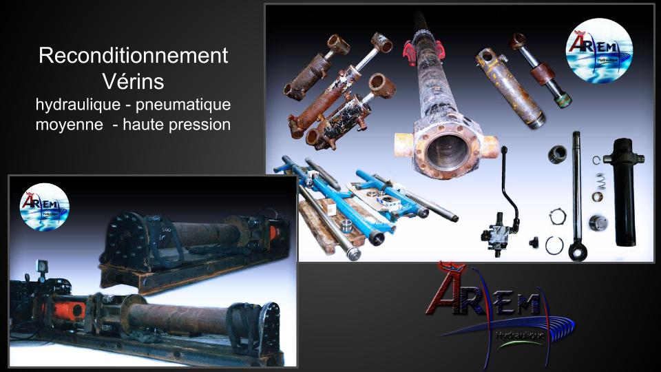 AremH vérin fabrication réparation complétion de puit