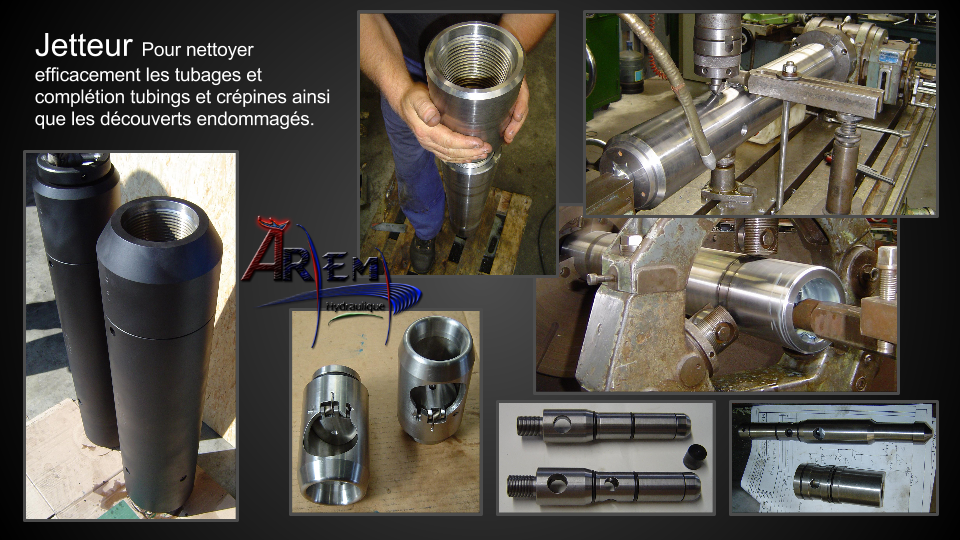 AremH Jetter pour completion et work over