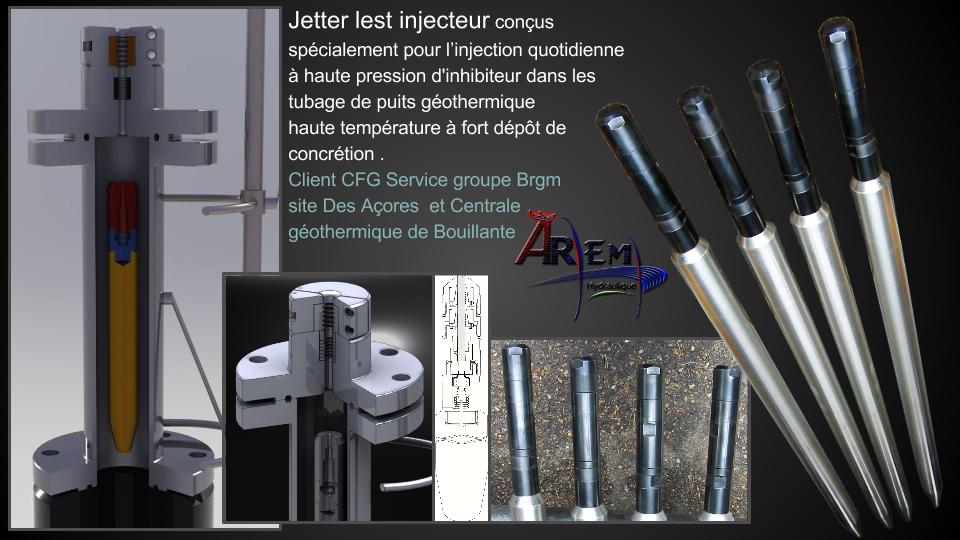 AremH Jetter lest injecteur pour completion et work over