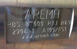 """Aremh RBS 8""""600 RTJ pour tête de puits Géothermique"""